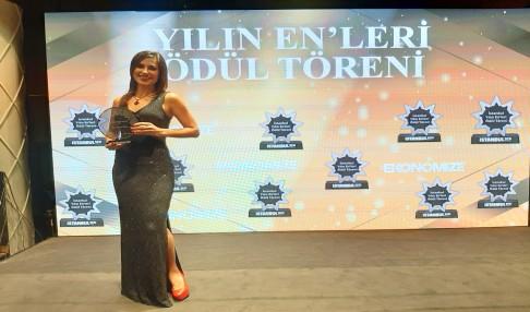 Haber Müdürümüz Merve AKINCI' ya İstanbulda Anlamlı Ödül